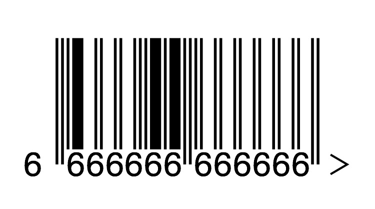 This barcode is not Satanic. Honest.