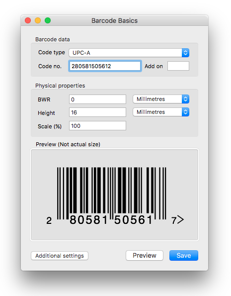 Barcode Basics adds Automator support Image